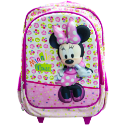 Minnie Mouse disney zaino 3D con trolley