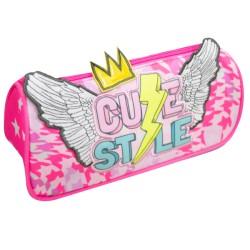 Minnie Mouse glitter disney borsa nera