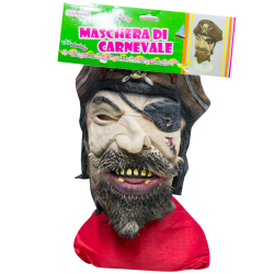 pirata maschera in gomma