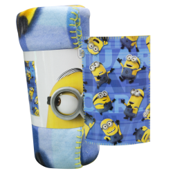 Plaid coperta Minions