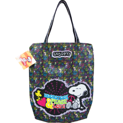 "Snoopy ""peace e love"" shopper"