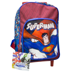 Zaino asilo trolley Superman