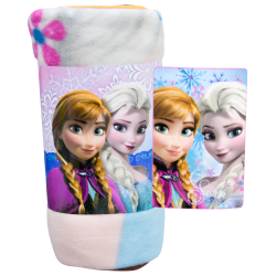 Plaid coperta Frozen Elsa e Anna disney