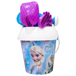 Secchiello con accessori mare Frozen disney