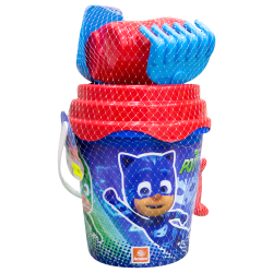 Secchiello con accessori mare Pj masks