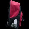 A-style zaino americano fondo nero con logo giallo