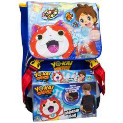 Zaino estensibile Yo-Kai Watch con medal bag
