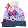 Cappello con pon pon Minnie Mouse disney