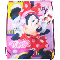 Sacca zaino Minnie Mouse musica disney