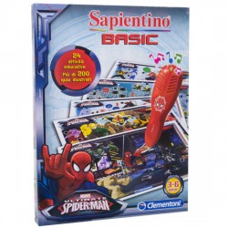 Sapientino quiz Spiderman marvel clementoni