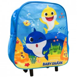Zaino asilo trolley Baby Shark
