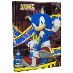 Diario scuola Sonic the Hedgehog pinball
