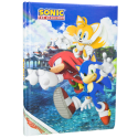 Diario scuola Sonic the Hedgehog Tails Knuckles the Echidna